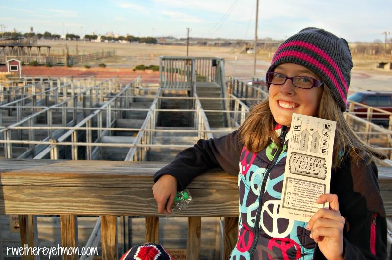 Fort Worth Stockyards Maze