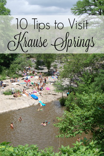 Tips for Krause Springs