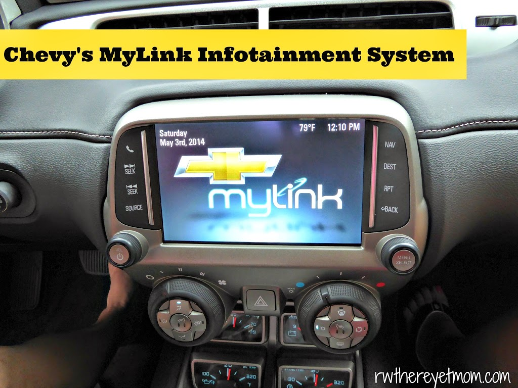 Chevy's MyLink Infotainment System - R We There Yet Mom?