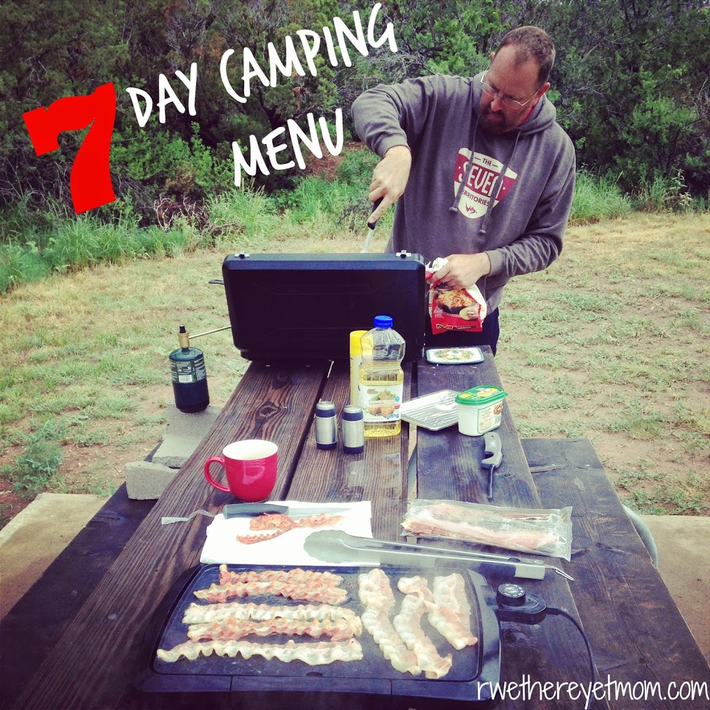 How Do You Cook For A Whole Week Of Camping R We There
