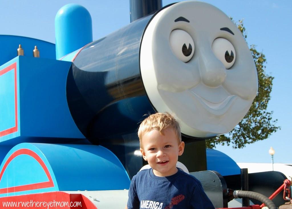 Thomas the Train in Burnet, TX