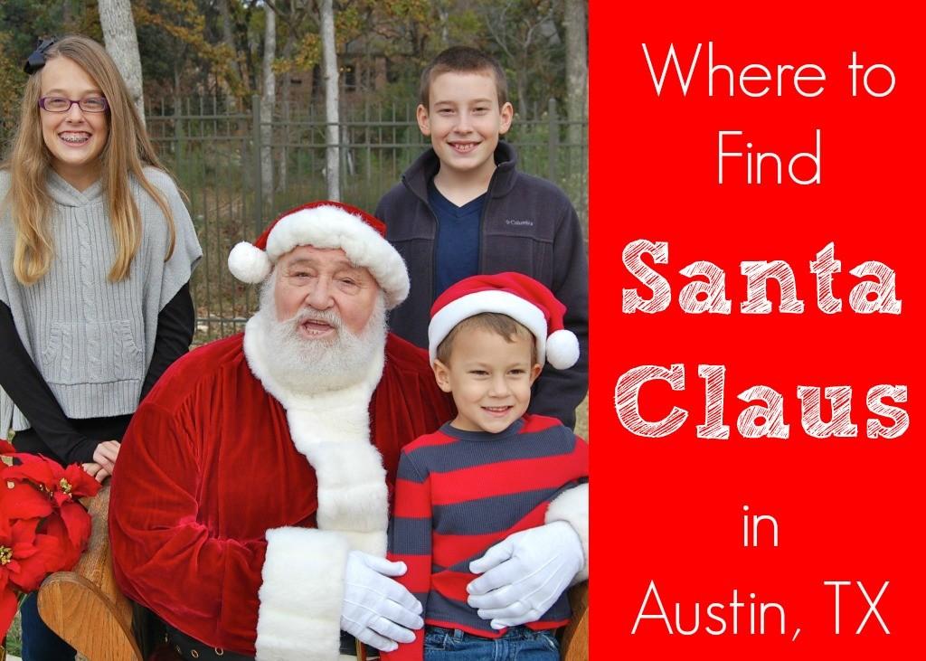 Santa Claus in Austin