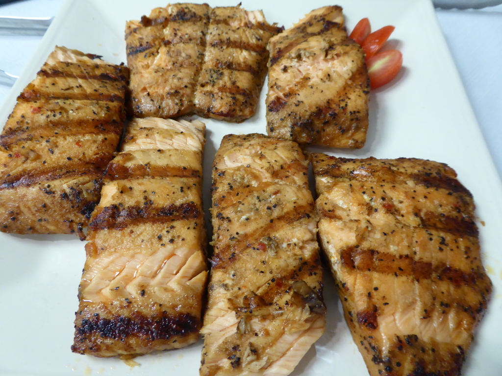 Omaha Steaks Marinated Salmon Fillets