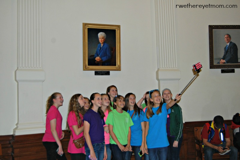 Ann Richards Capitol Photo