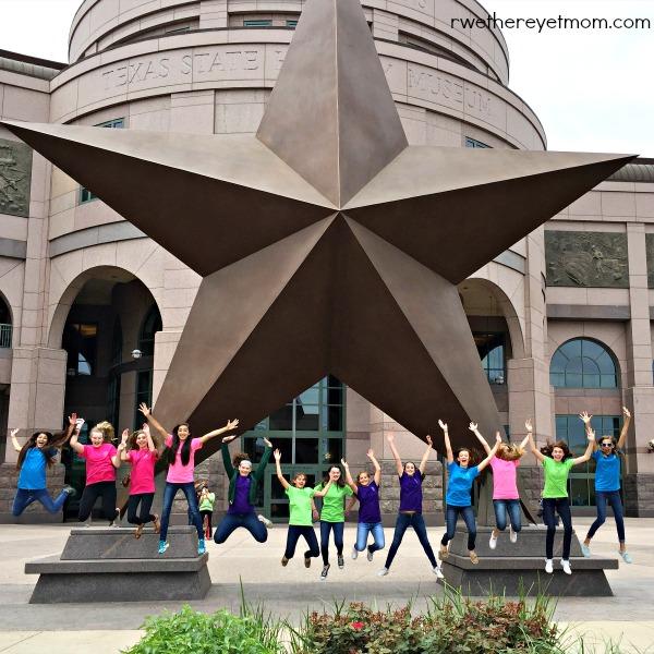 Bullock Texas State Museum Star