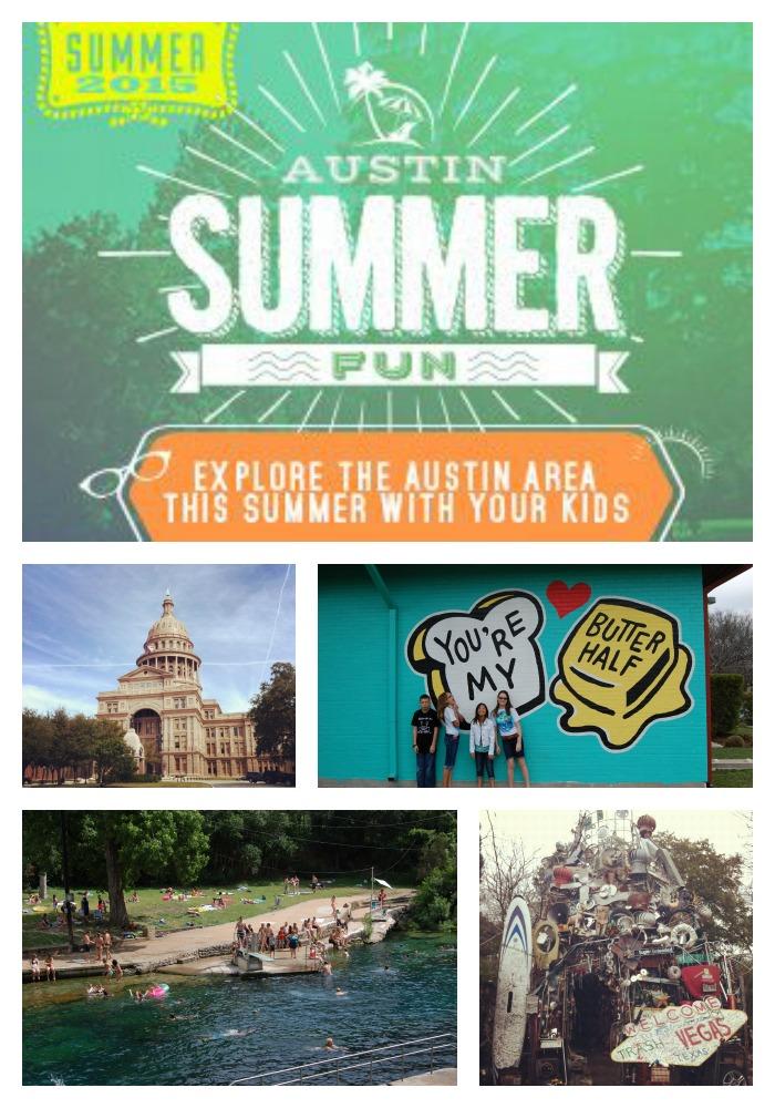 Austin Summer Fun Checklist 2015