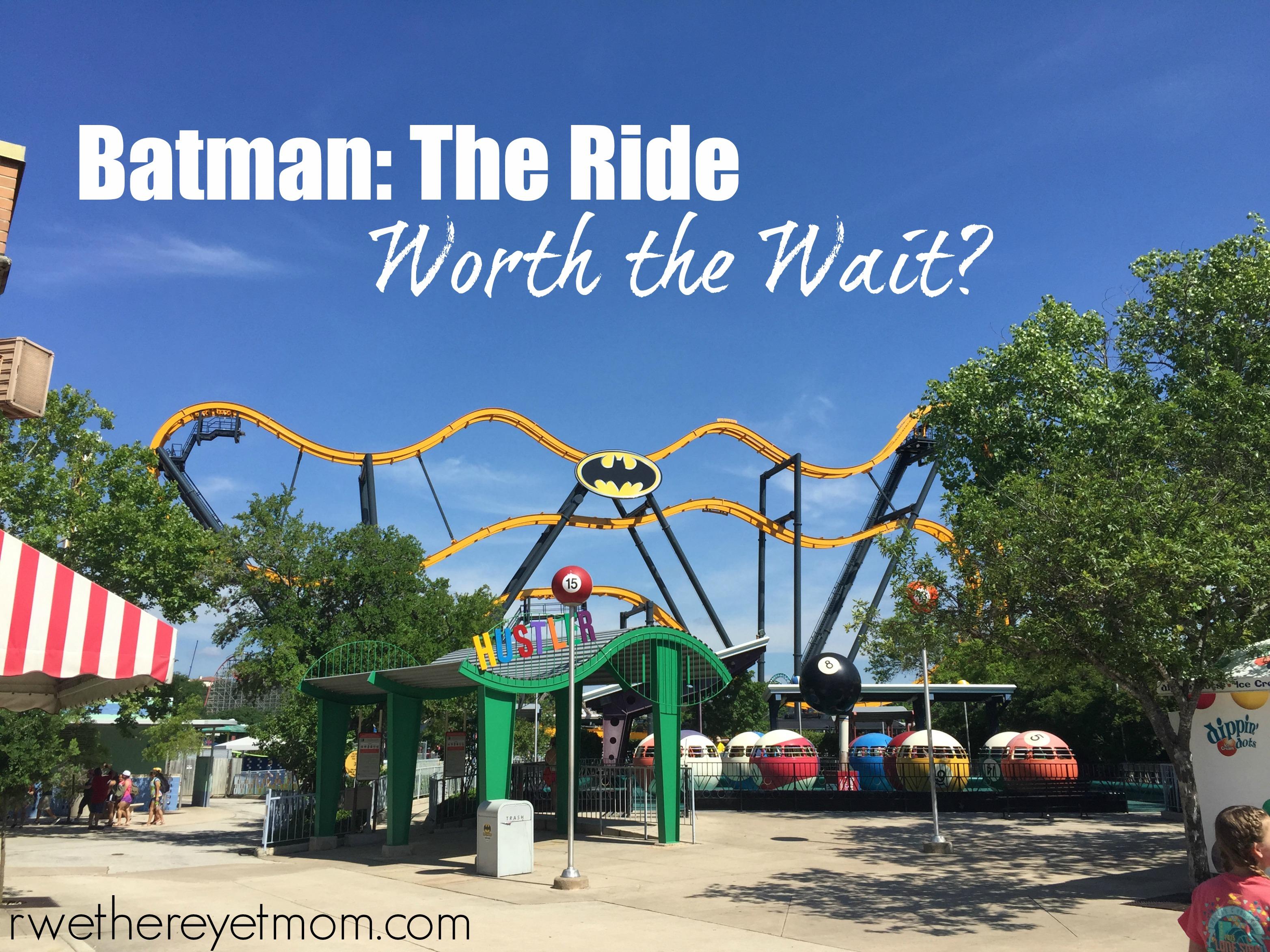 Batman The Ride At Six Flags Fiesta Texas Worth The Wait