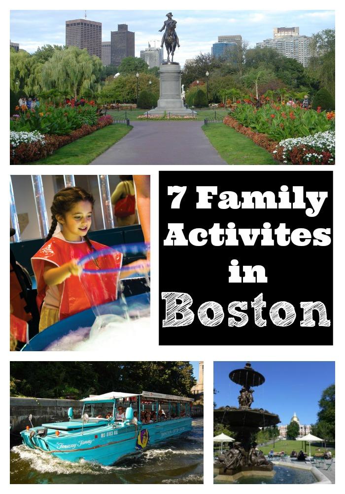 Family Activities in Boston