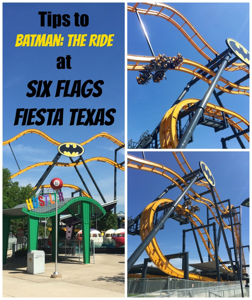 Tips for Batman The Ride