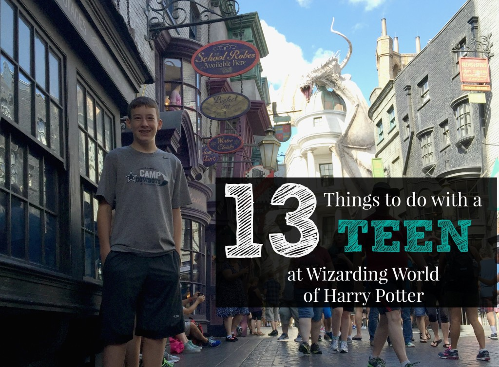 Teenager Wizarding World of Harry Potter