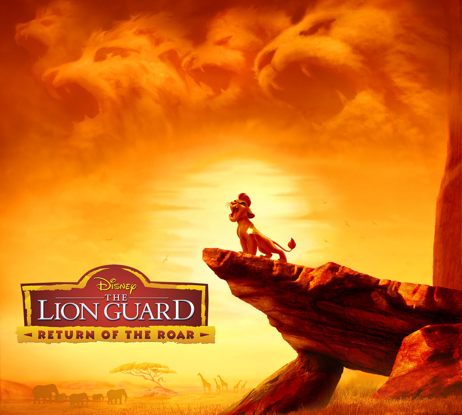 Disney Junior S The Lion Guard Return Of The Roar Premieres November 22 2015 Lionguardevent R We There Yet Mom