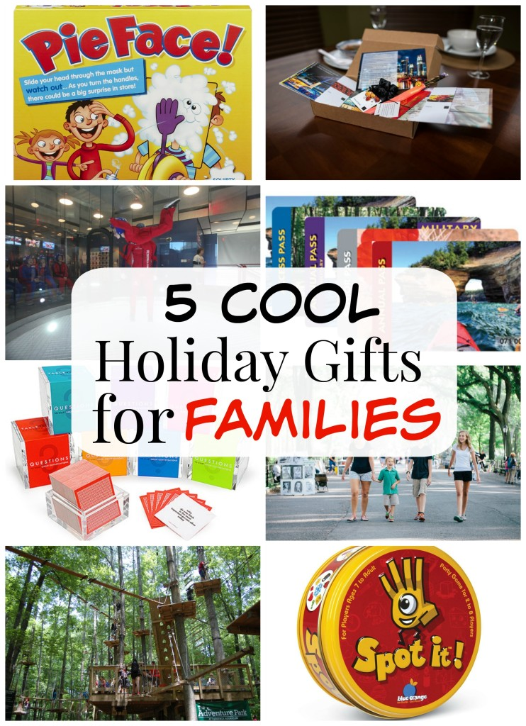 5 Cool Holiday Gift for Families