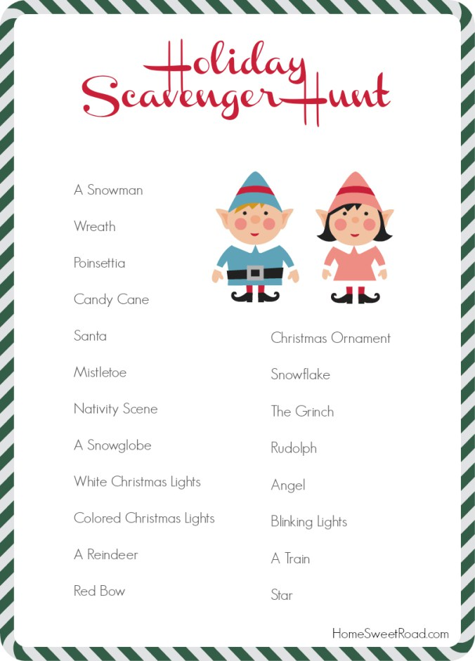 holiday-scavenger-hunt-ideas