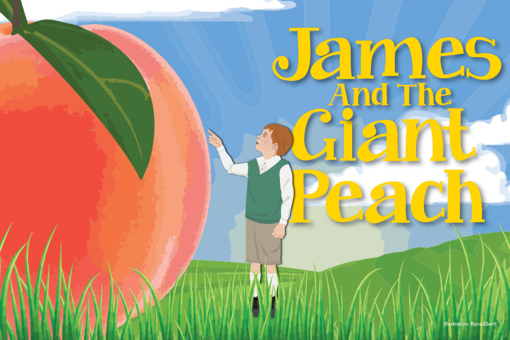 JAMES AND GIANT PEACH art