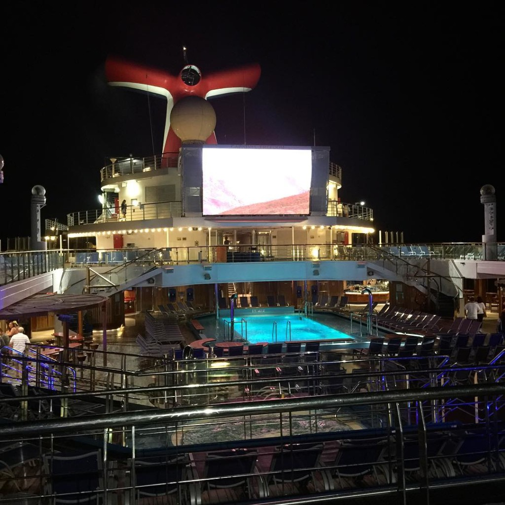 Carnival Freedom dive in movies