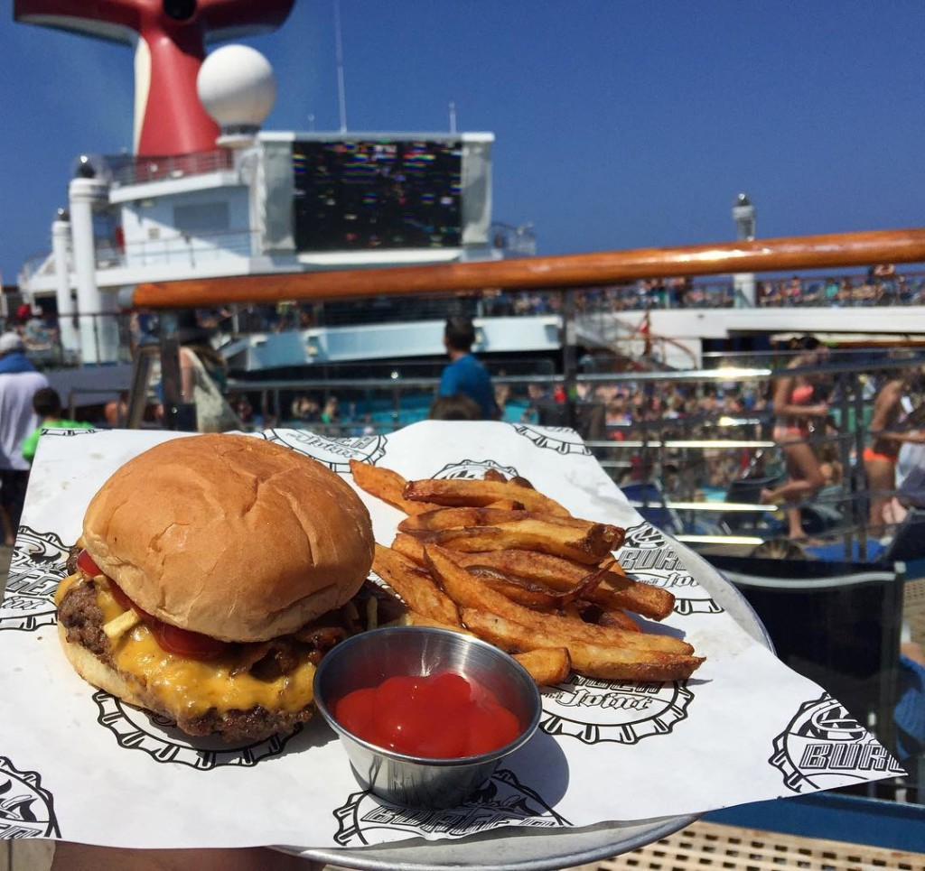 Carnival Freedom Guy's Burger Joint