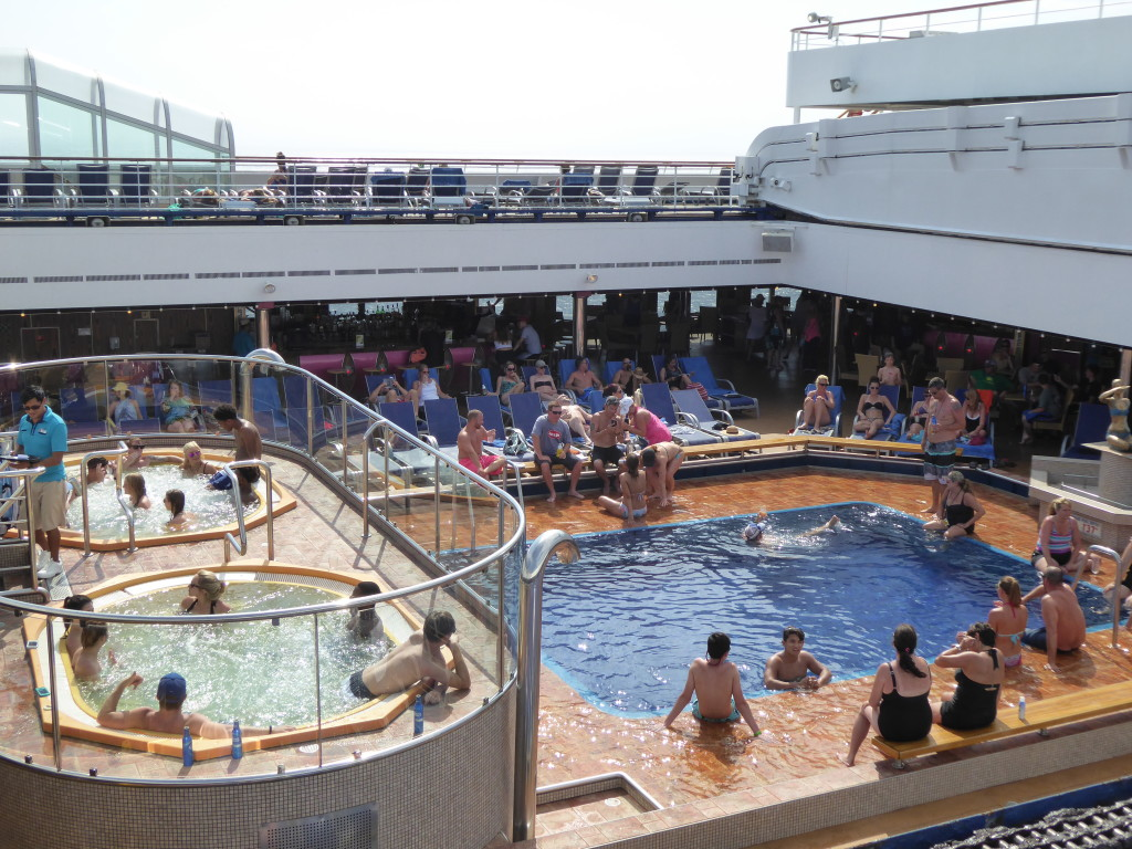 Carnival Freedom: Adults Only Pool