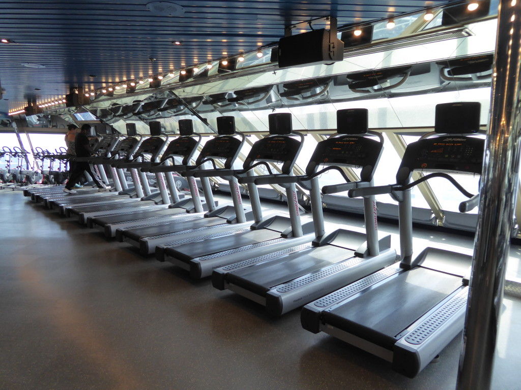 Carnival Freedom Activities: Gym