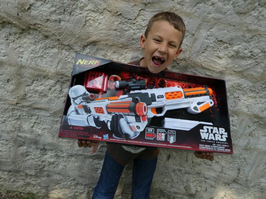 Star Wars Day: Nerf Gun