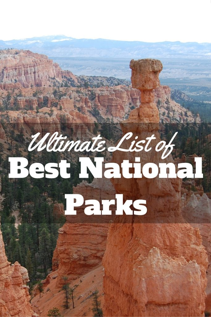 Ultimate List of Best National Parks