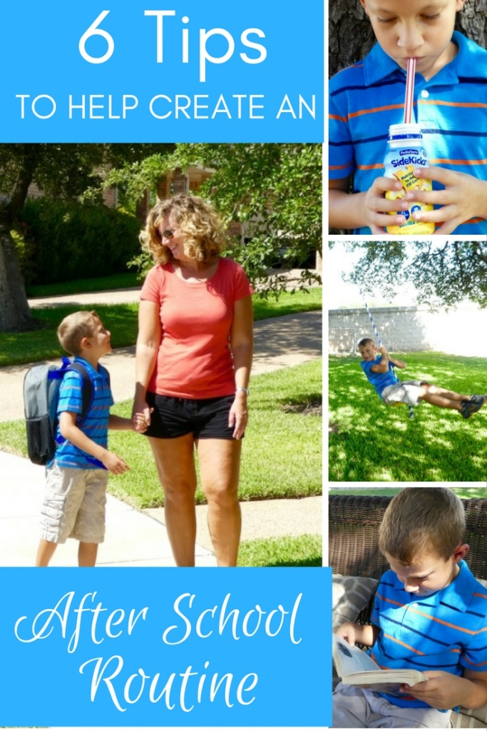 6 Tips to Create an After School Routine