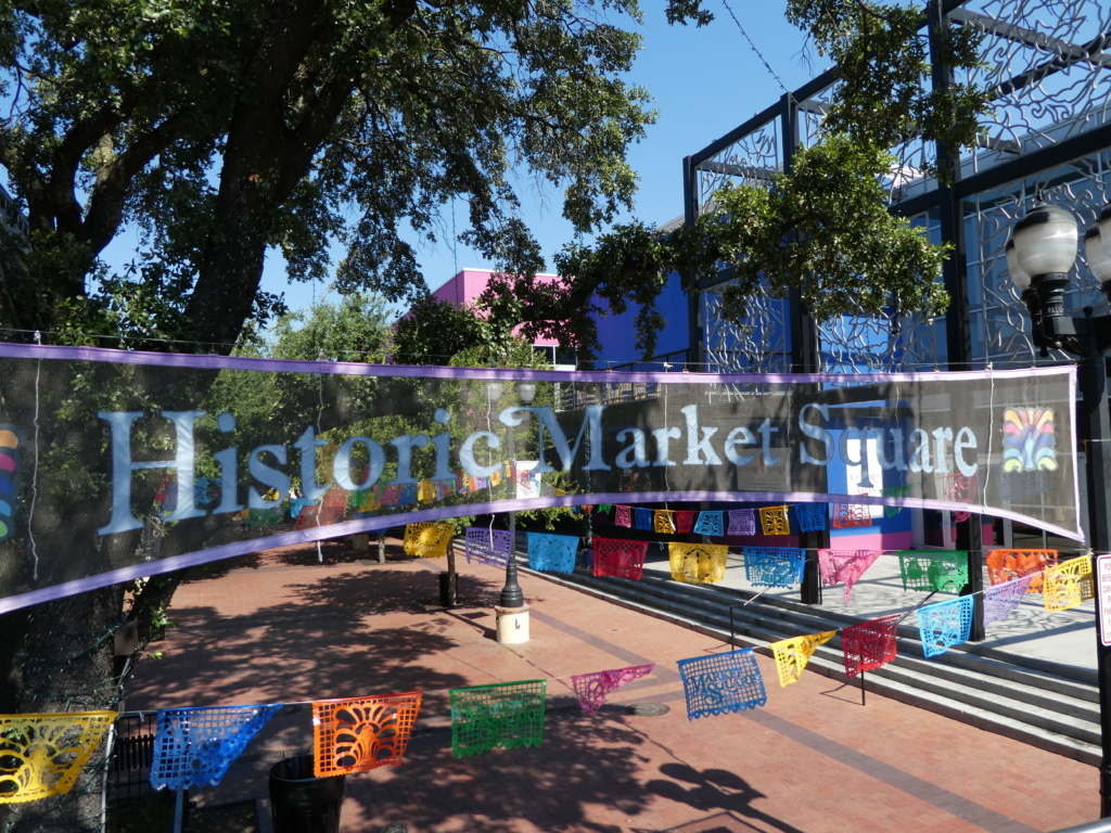 San Antonio with Kids- Market Square