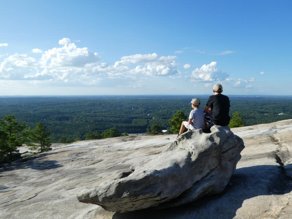 Atlanta with Kids - Stone Mountain Park