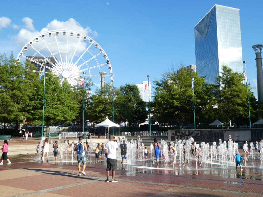 Atlanta with Kids - Centennial Olympic Park