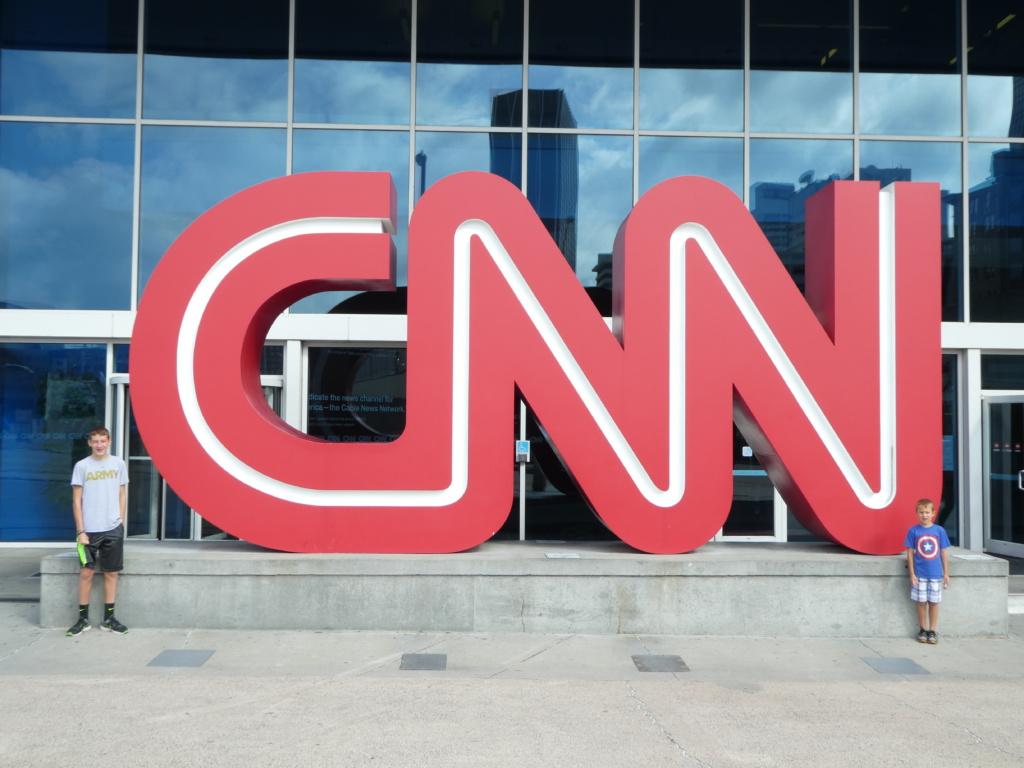 Atlanta with Kids - CNN Studio Tour