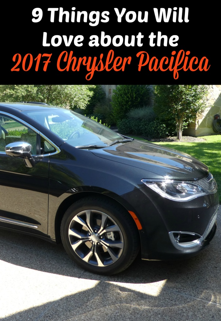 9 Things You Will Love about the 2017 Chrysler Pacifica