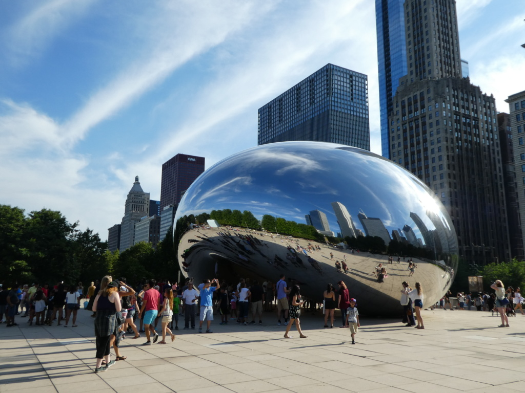 Chicago with Kids - Cloud Gate
