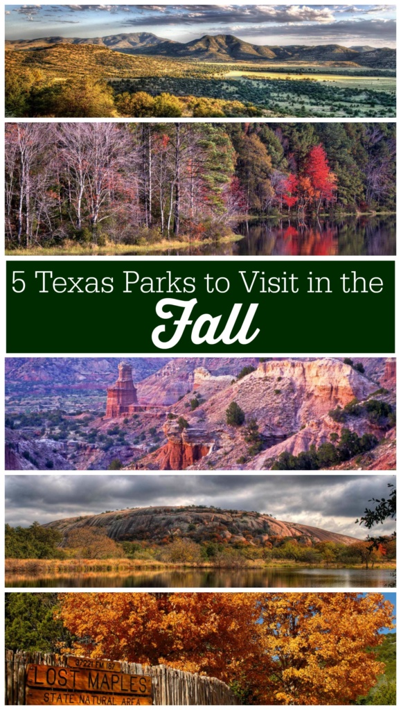 5 Texas State Parks to Visit in the Fall to see Fall Colors