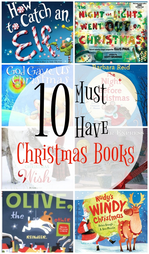 10 Must Have Christmas Books