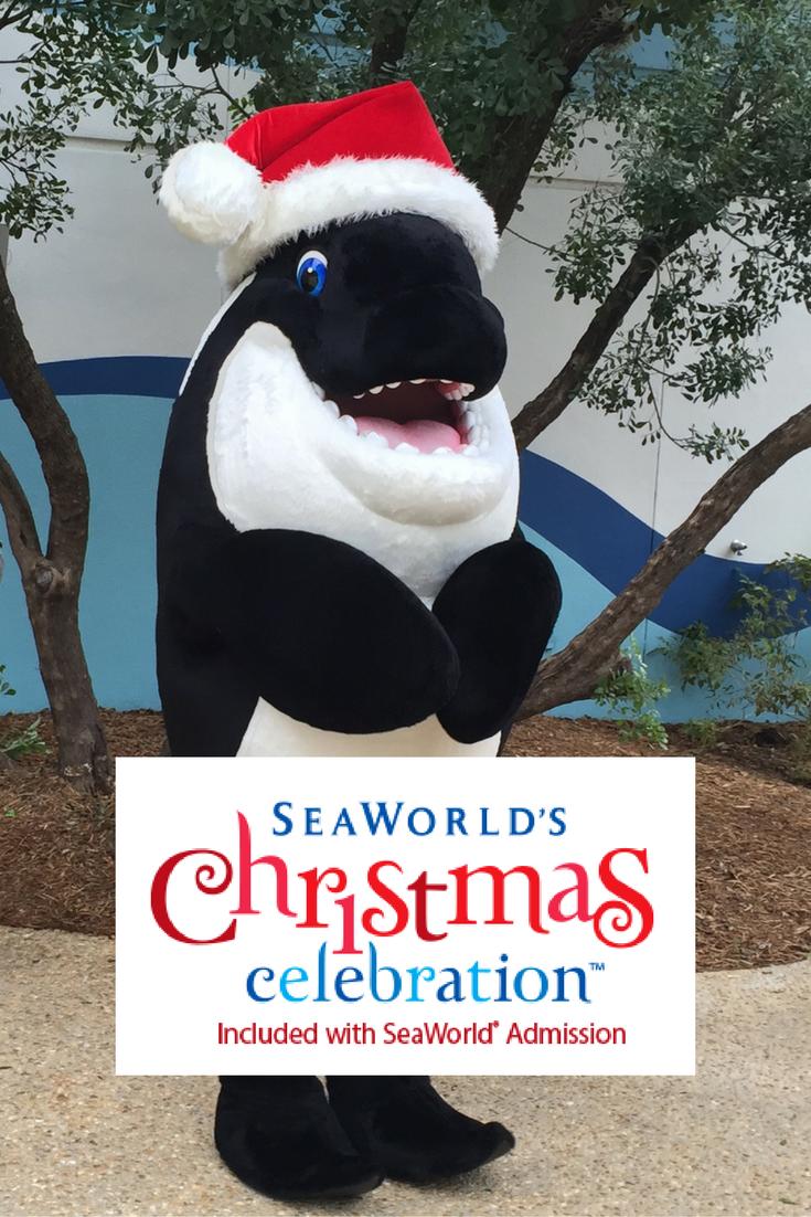 SeaWorld's Christmas Celebration at SeaWorld San Antonio