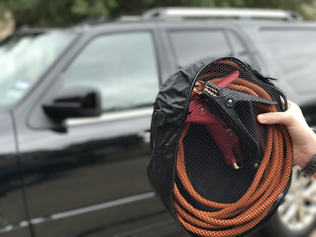 Winter Weather Vehicle Tips: Jumper Cables
