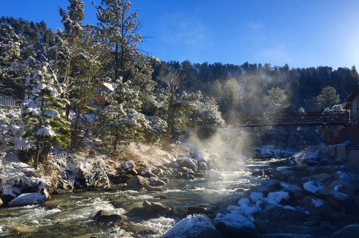 Colorado Hot Springs near Monarch Mountain