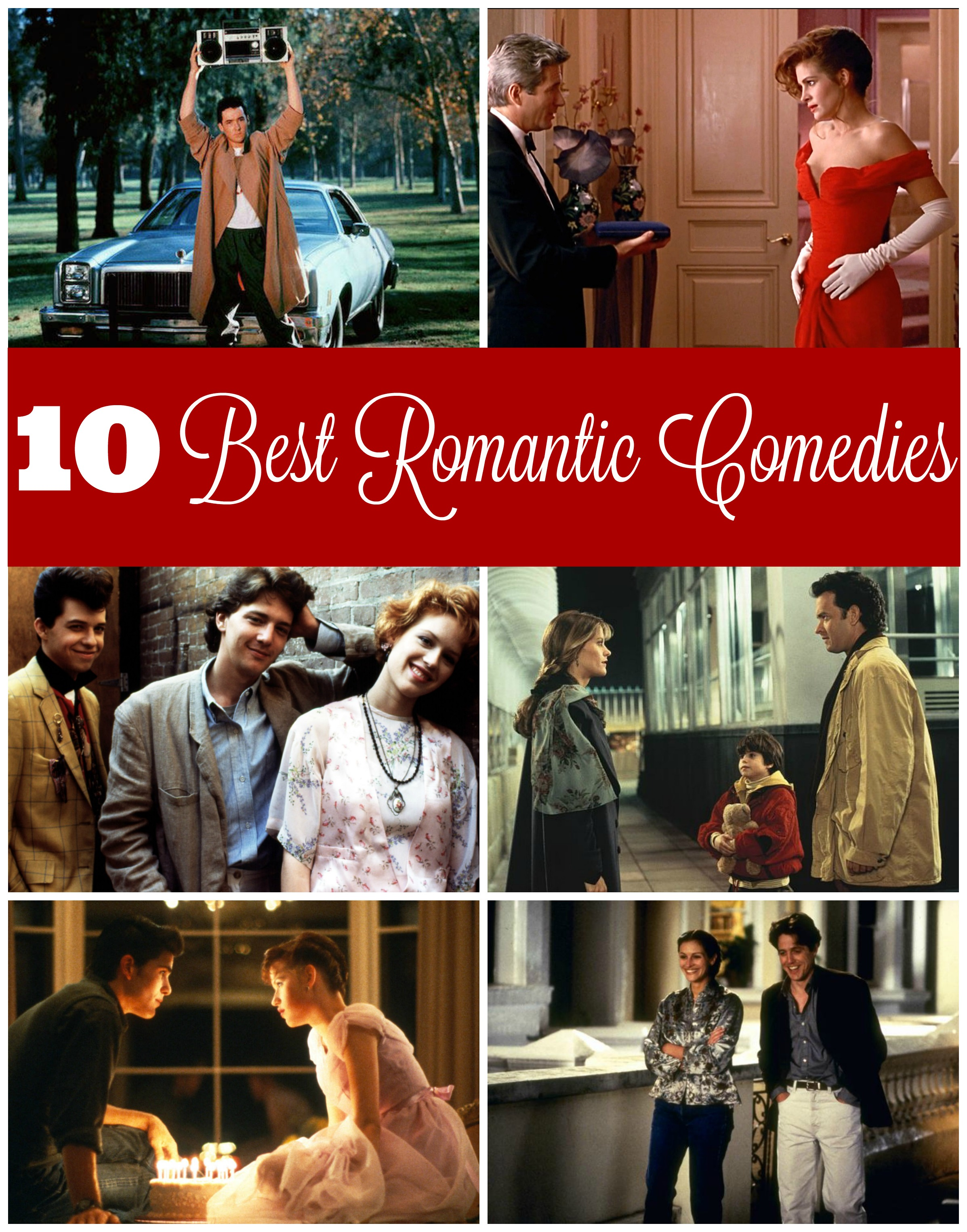Top 10 Best Romantic Comedies for Valentines Day - R We
