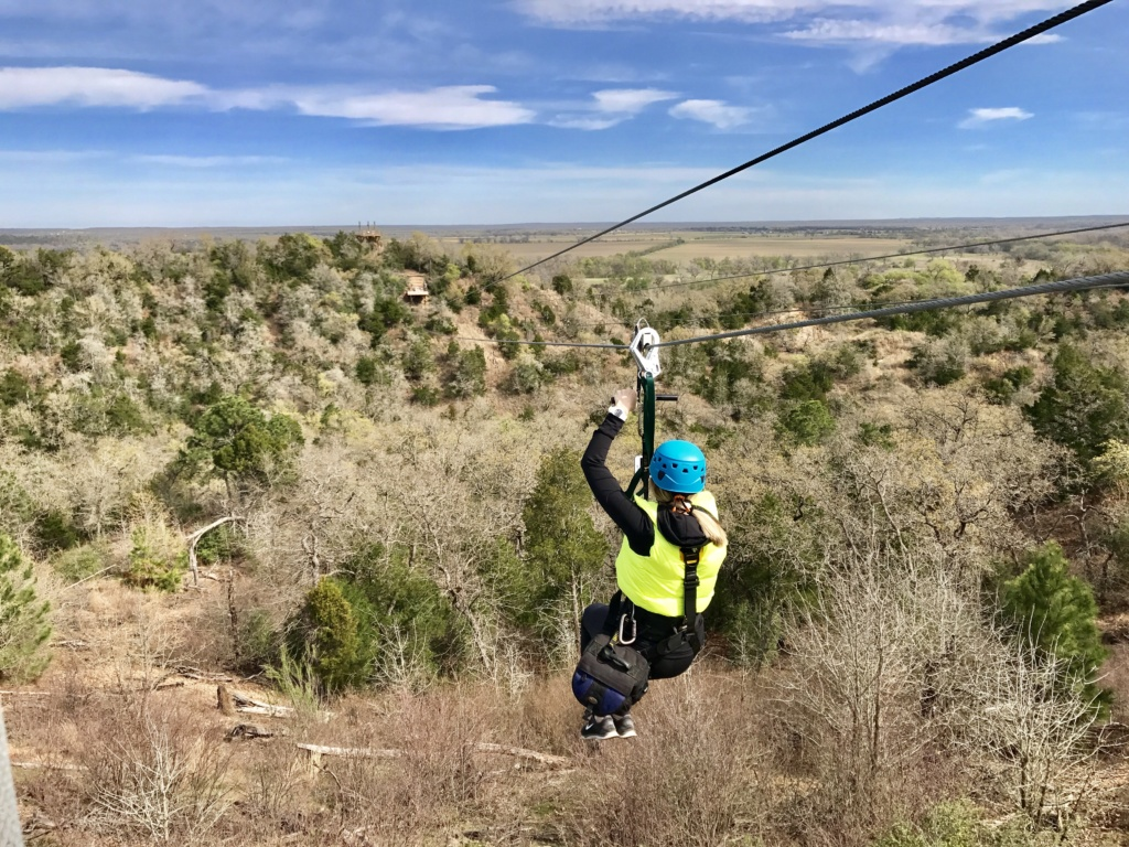 A Weekend in Bastrop: Zip Lost Pines