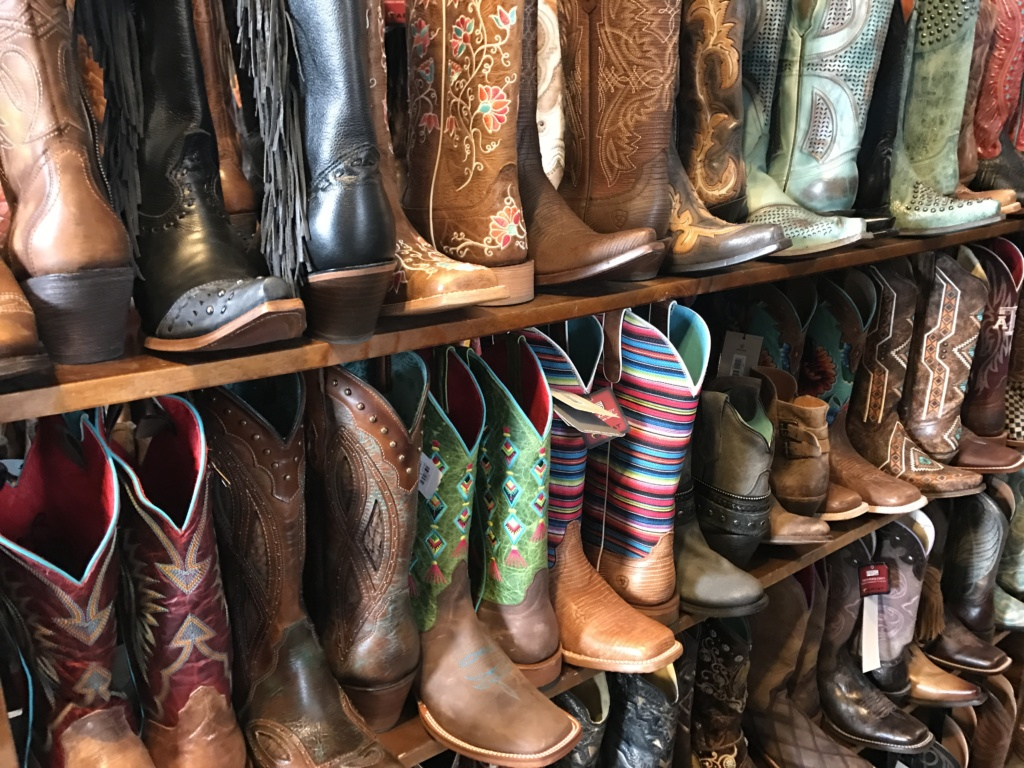 A Weekend in Bastrop: Texas Boot Company