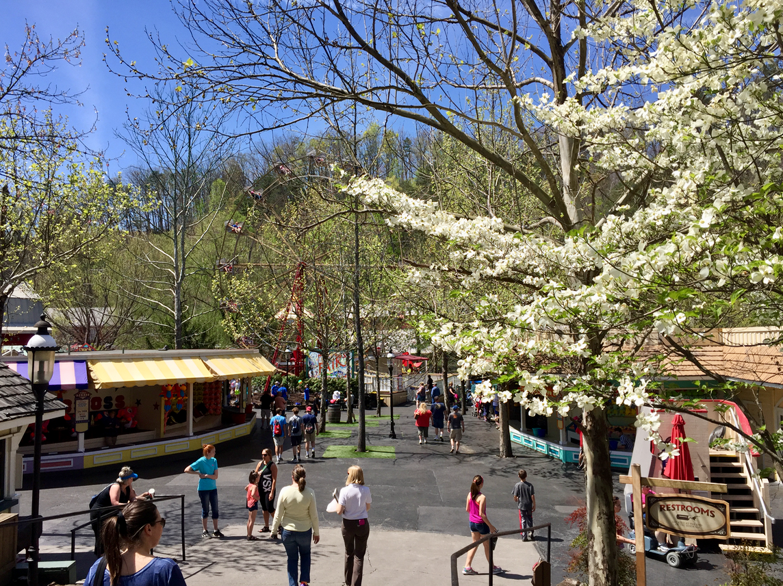 Dollywood in Pigeon Forge Tennessee