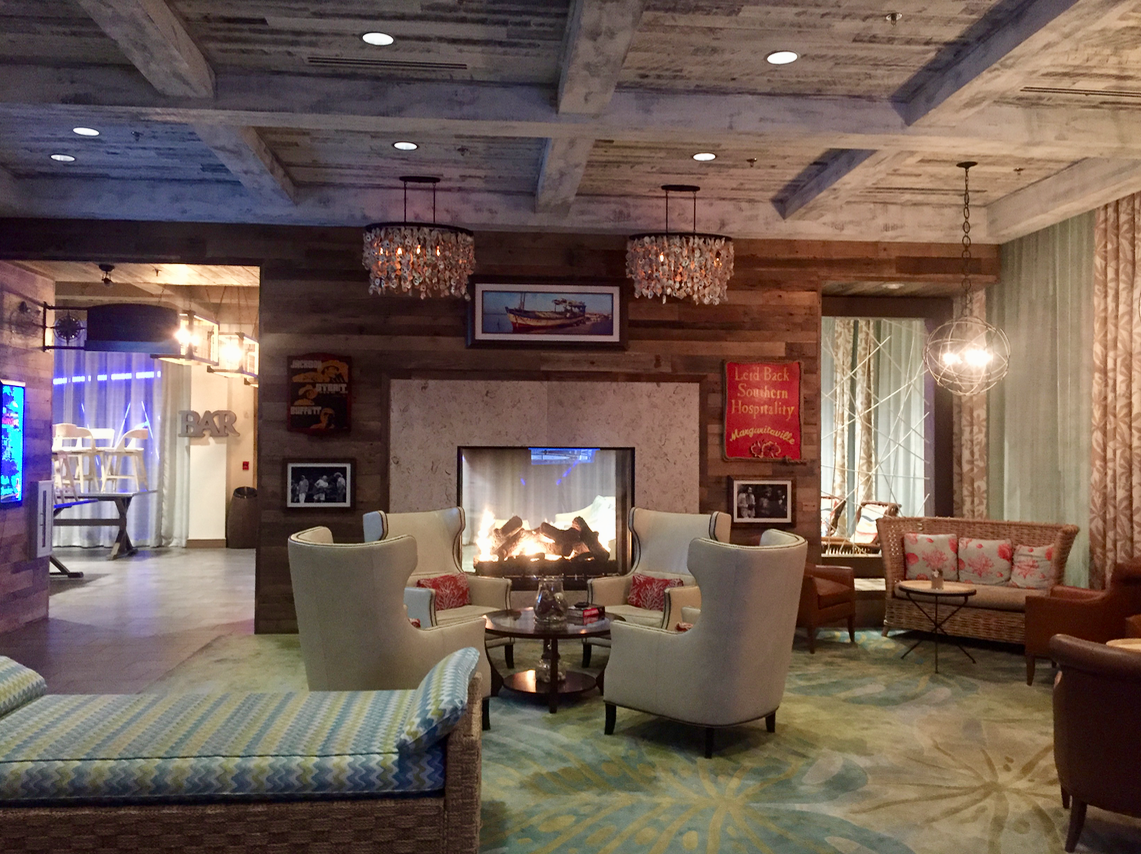 The Margaritaville Island Hotel in Pigeon Forge, Tennessee