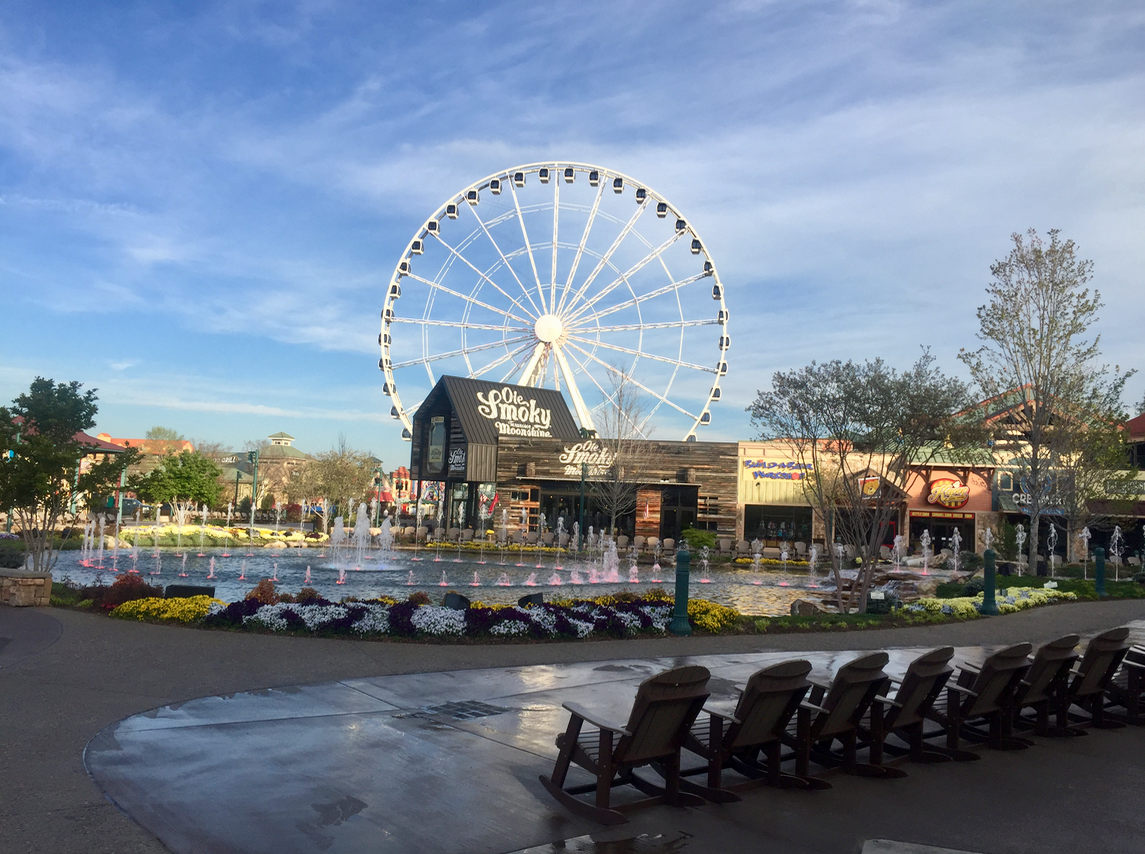 The Island in Pigeon Forge, Tennessee