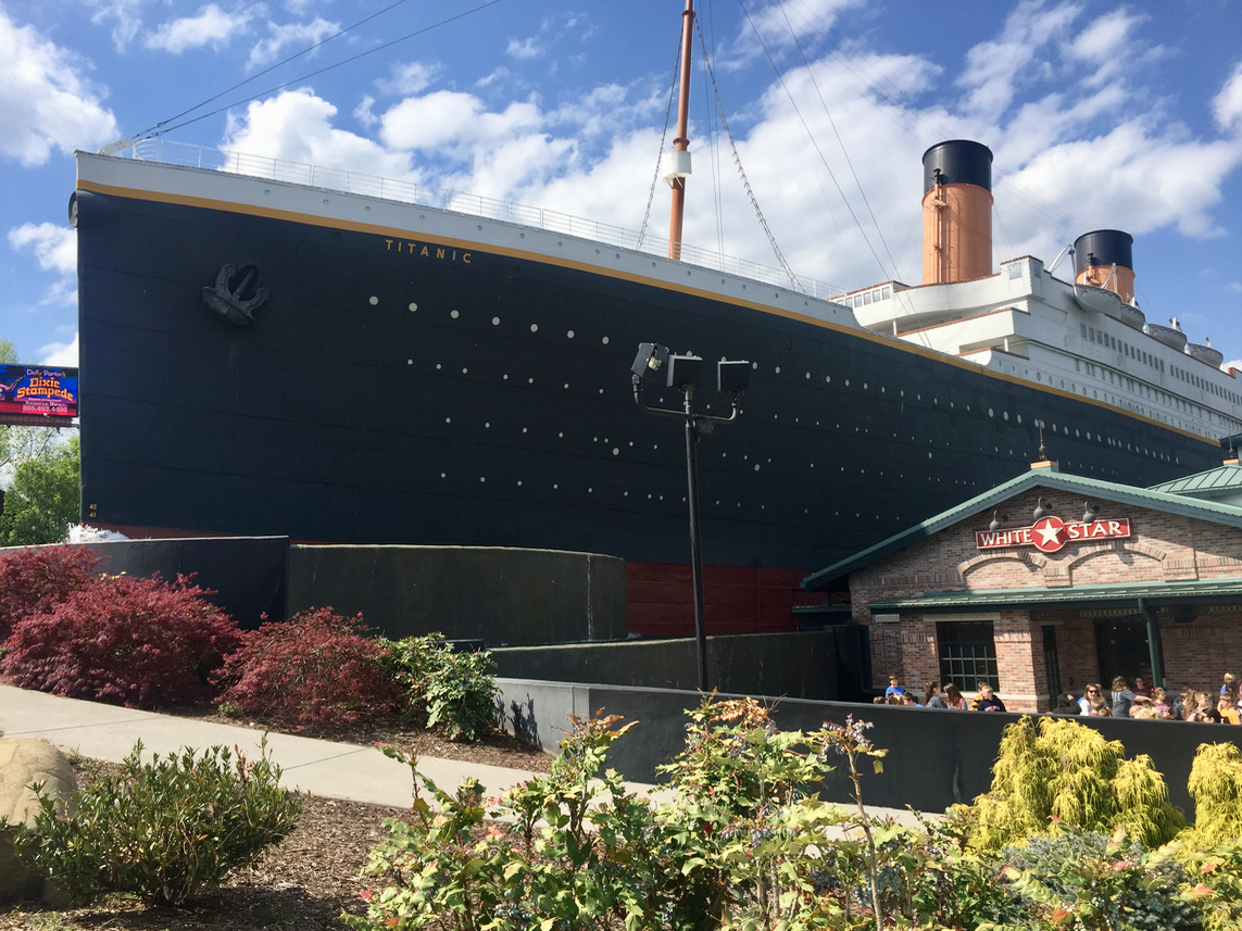 The Titanic Museum in Pigeon Forge Tennessee