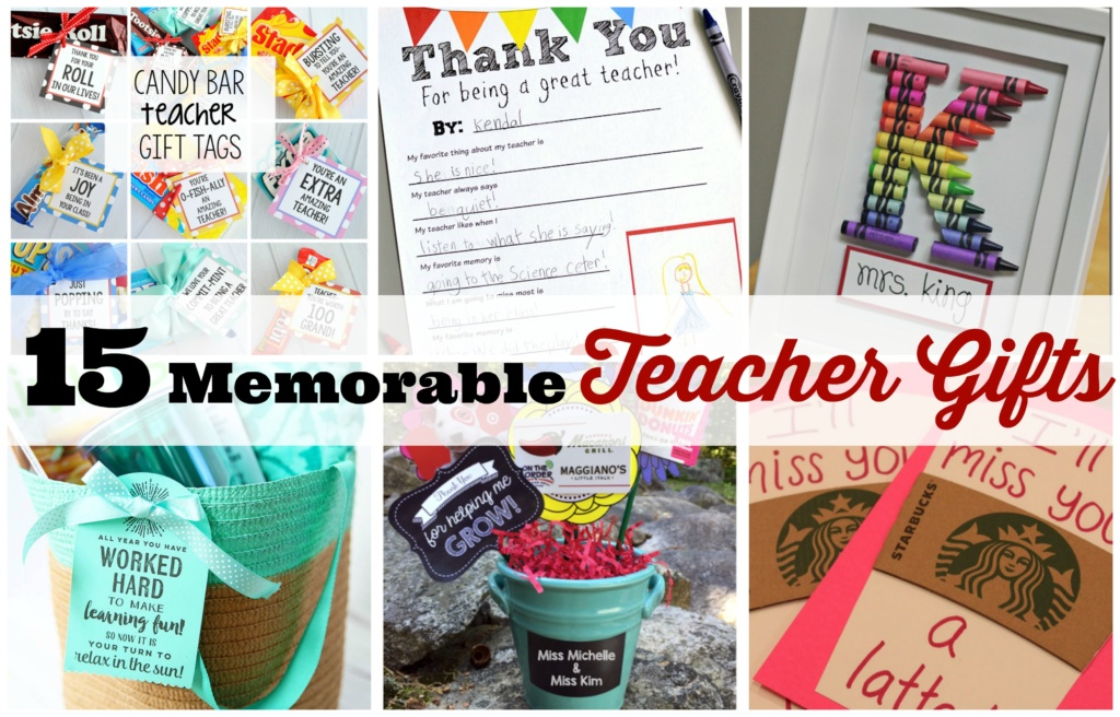 15 Memorable Teacher Gifts