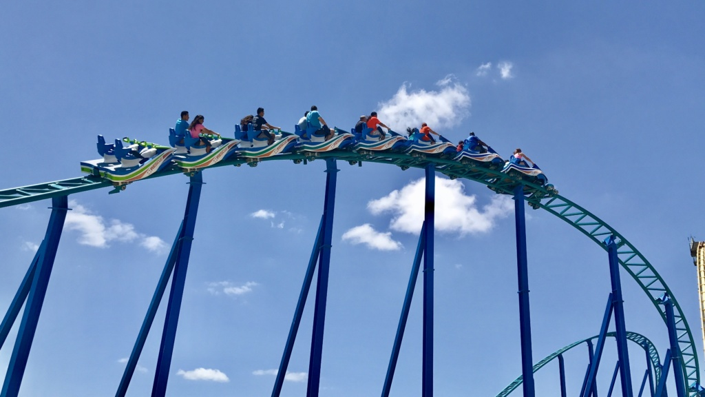 SeaWorld San Antonio Wave Breaker: The Rescue Coaster