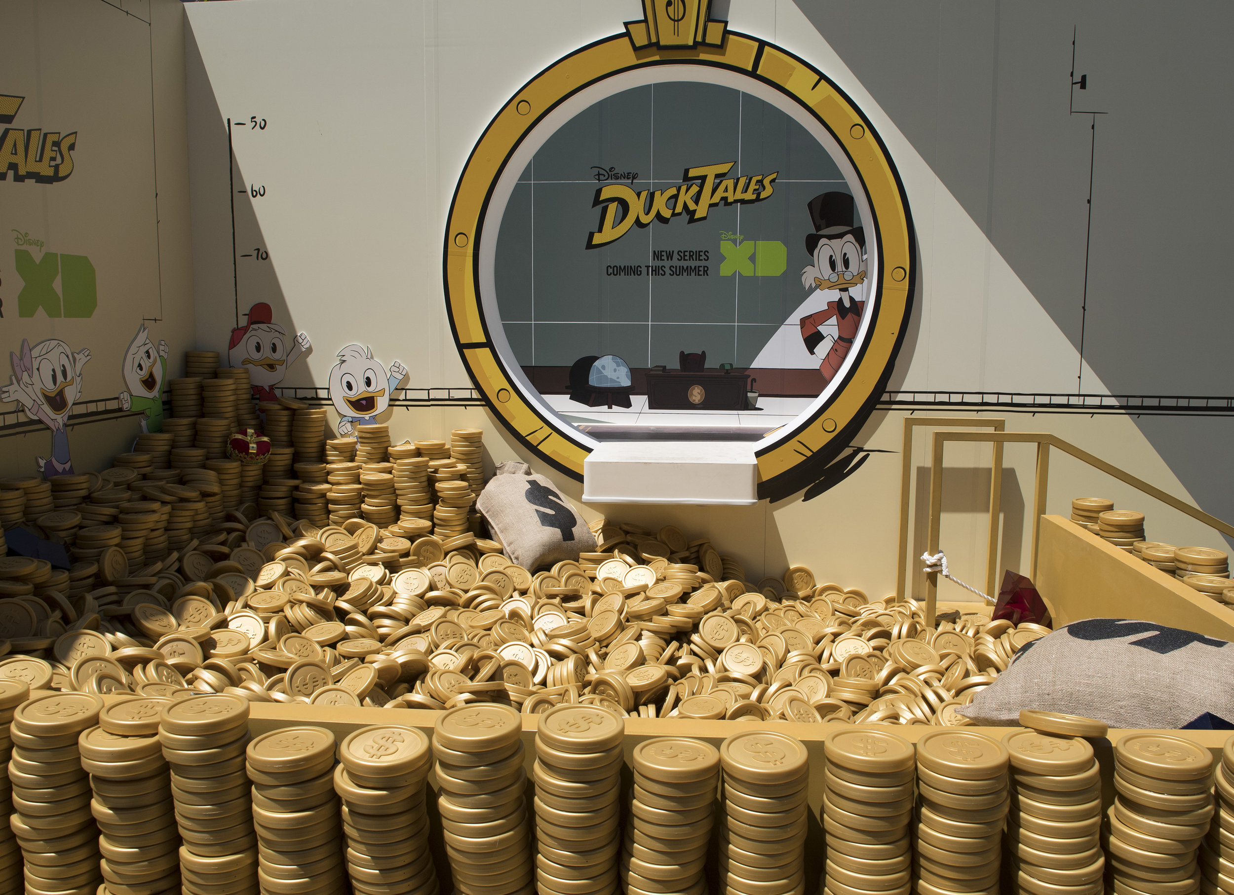 Jump Into Scrooge Mcduck S Money Bin With Me For Ducktales