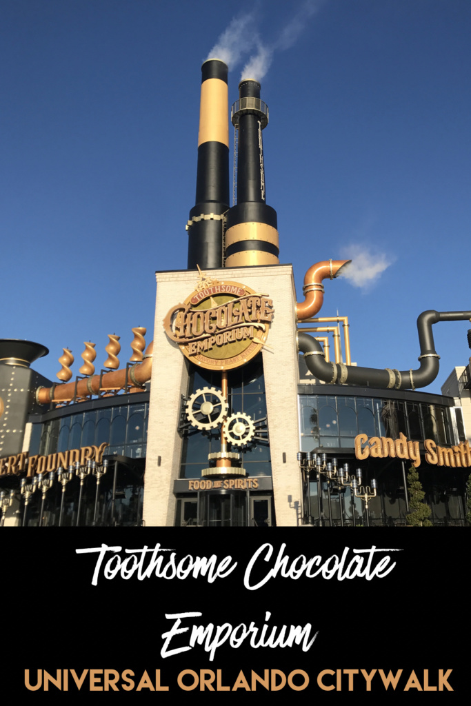 Our Dinner Experience at Toothsome Chocolate Emporium at Universal Orlando CityWalk