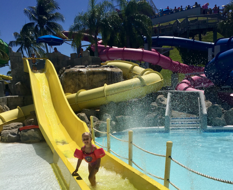 Rapids Water Park in The Palm Beaches Florida