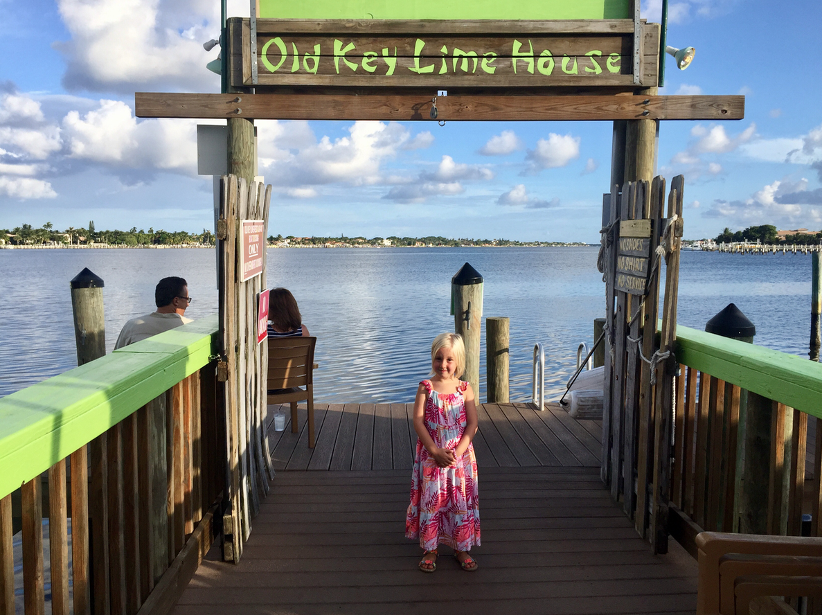 Old Key Lime House in The Palm Beaches Florida
