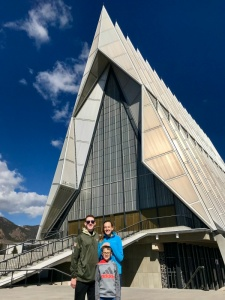 Colorado Springs with Kids: Air Force Academy
